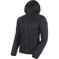 Mammut Rime IN Flex Hooded Jacket - Mens-Black / Phantom
