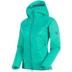 Mammut Rime IN Flex Hooded Jacket - Womens-Atoll