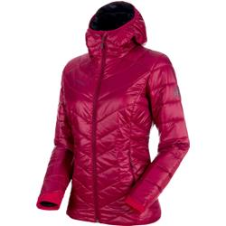 Mammut Rime IN Hooded Jacket - Womens-Beet / Phantom