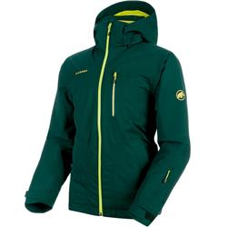 Mammut Stoney GTX Thermo Jacket - Mens-Dark Teal / Canary
