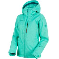 Mammut Stoney HS Thermo Jacket - Womens-Atoll Melange / Atoll