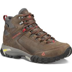 Vasque Talus Trek UltraDry, Medium - Mens-Slate Brown / Chili Pepper
