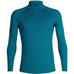 Icebreaker 150 Zone LS Half Zip - Mens-Alpine / Monsoon