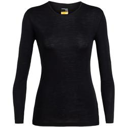 Icebreaker 175 Everyday LS Crewe - Womens-Black