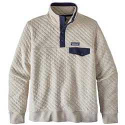 Patagonia Organic Cotton Quilt Snap-T Pullover - Womens-Birch White