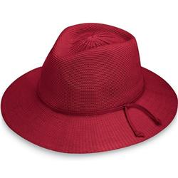 Wallaroo Hats Victoria Fedora - Womens-Cranberry