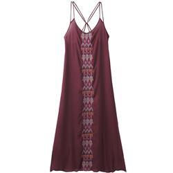 Prana Autumn Dress - Womens-Black Cherry