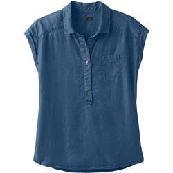 Prana Azul Top - Womens-Antique Blue