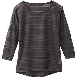 Prana Bacall Top - Womens-Black