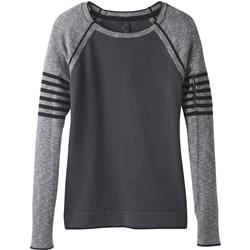 Prana Cadot Sweater - Womens-Charcoal