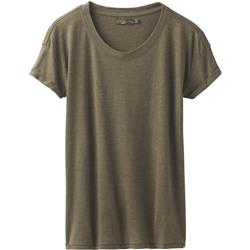 Prana Cozy Up T-Shirt - Womens-Cargo Green Heather