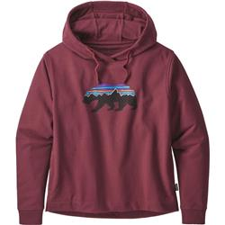 Patagonia Fitz Roy Bear Uprisal Hoody - Womens-Rocky Red
