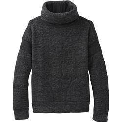 Prana Crestland Pullover - Womens-Charcoal Heather
