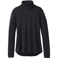 Prana Foundation Turtleneck - Womens-Black