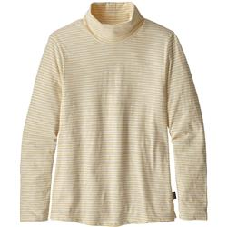Patagonia Mainstay Turtleneck - Womens-Vineyard Stripe / Birch White