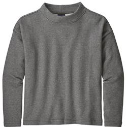 Patagonia Mount Sterling Pullover - Womens-Forge Grey