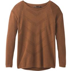 Prana Mainspring Sweater - Womens-Burnt Caramel Heather