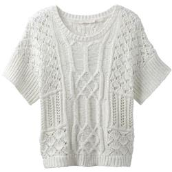 Prana Patchwork Sweater - Womens-Bone
