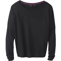 Prana Seabord LS Top - Womens-Black