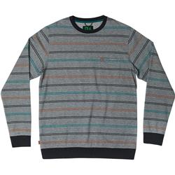 Hippy Tree Avalon Crew - Mens-Heather Grey