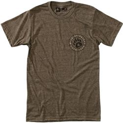 Hippy Tree Claw Tee - Mens-Heather Brown