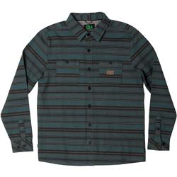 Hippy Tree Easton Flannel - Mens-Teal