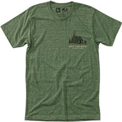 Hippy Tree Homestead Tee - Mens-Heather Army