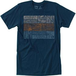 Hippy Tree Logstack Tee - Mens-Navy