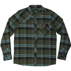 Hippy Tree Newton Flannel - Mens-Army