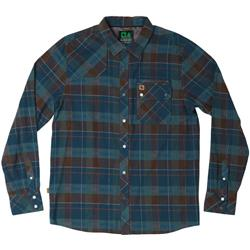 Hippy Tree Newton Flannel - Mens-Blue