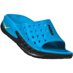 Hoka Ora Recovery Slide - Mens-Black / Process Blue