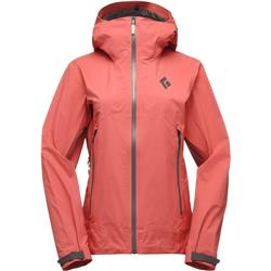 Black Diamond Helio Active Shell - Womens-Coral