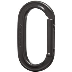 Black Diamond Oval Keylock Carabiner-Black