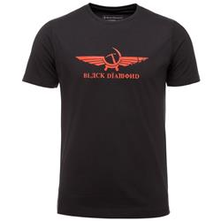 Black Diamond Perestroika SS Tee - Mens-Black