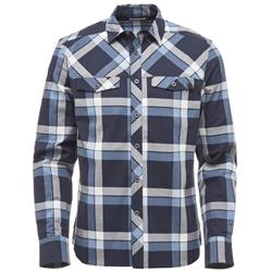 Black Diamond Technician LS Shirt - Mens-Captain / Blue Steel Plaid