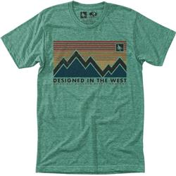 Hippy Tree Spectrum Tee - Mens-Heather Green