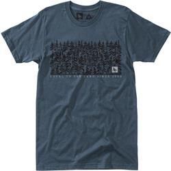 Hippy Tree Thicket Tee - Mens-Blue