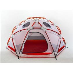 SlingFin OneUp with Hex Body - inc Footprint-Orange / White