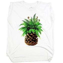Westcoastees Pineapple Muscle Tee - Womens-Not Applicable