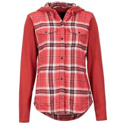 Marmot Reagan MidWt Flannel LS - Womens-Desert Red