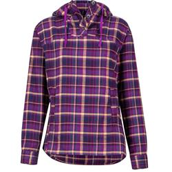Marmot Shelley Midweight Flannel LS - Womens-Grape