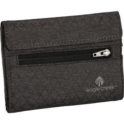Eagle Creek RFID International Tri-Fold Wallet-Black / Charcoal