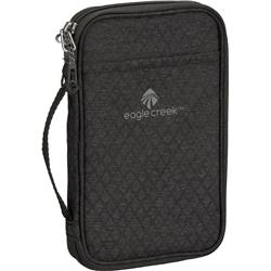 Eagle Creek RFID Travel Zip Organizer-Black / Charcoal