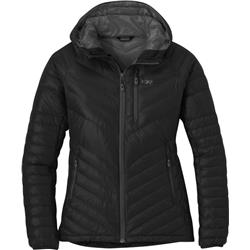 Outdoor Research Illuminate Down Hoody - Womens-Black
