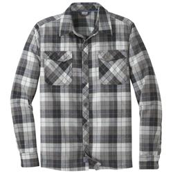 Outdoor Research Tangent II LS Shirt - Mens-Black Plaid