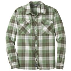Outdoor Research Tangent II LS Shirt - Mens-Juniper Plaid