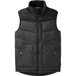 Outdoor Research Transcendent Down Vest - Mens-Storm / Black