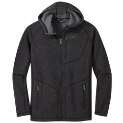 Outdoor Research Vashon Fleece Full-Zip - Mens-Charcoal Heather
