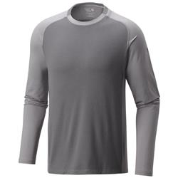 Mountain Hardwear Butterman Crew - Mens-Shark / Manta Grey