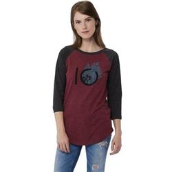 tentree Fern Ten Tee - Womens -Burgundy